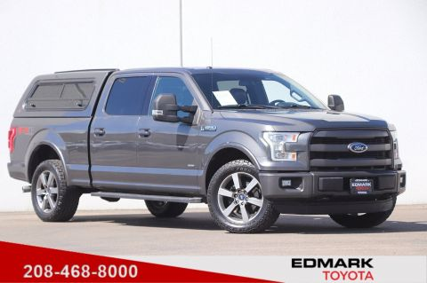 Pre-Owned 2015 Ford F-150 LARIAT 4WD Crew Cab Pickup