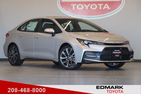 New 2020 Toyota Corolla SE FWD 4dr Car